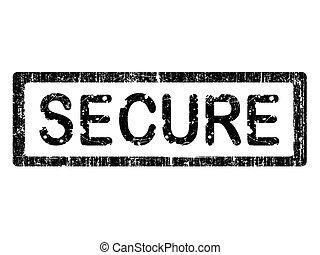 Grunge Office Stamp - SECURE