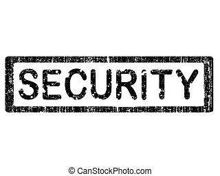Grunge Office Stamp - SECURITY