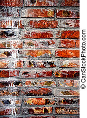 Grunge old bricks wall texture