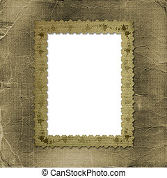 Grunge old papers design in scrapbooking style