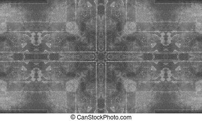 Grunge overlay black and white loop