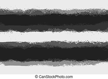 Grunge paint stain dividers, background stripes