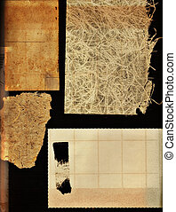grunge paper collection