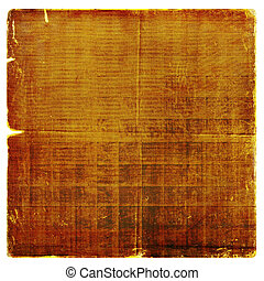Grunge paper design in scrapbooking style on the white isolated background