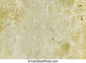 Grunge paper - Obsolete grunge stained textured paper for...