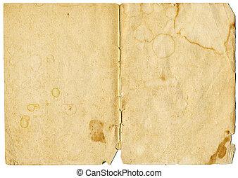 Grunge paper - Old grunge paper background