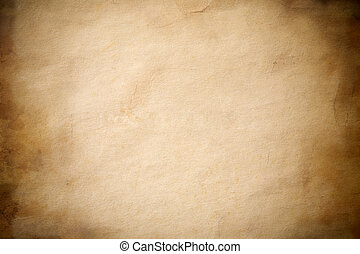 grunge paper - special toned background with dark vignetting