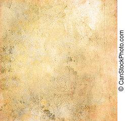 grunge, papier, textuur