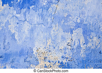 grunge, parede azul