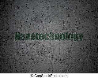 grunge, parede, ciência, fundo, nanotechnology, concept: