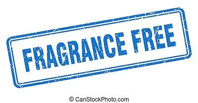 grunge, parfum, signe, blanc, carrée, stamp., fond, gratuite