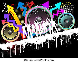 grunge, party