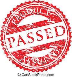 passed logo