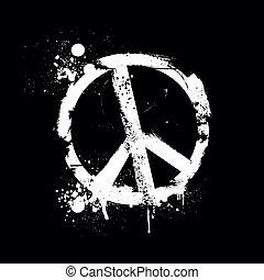 grunge peace