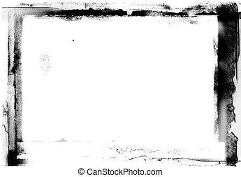 grunge photographic frame