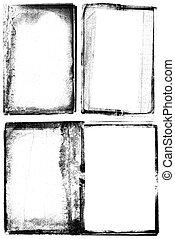 grunge photographic frames