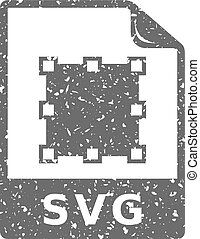 grunge, pictogram, -, svg, bestand