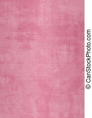 Grunge pink plaster wall with stains