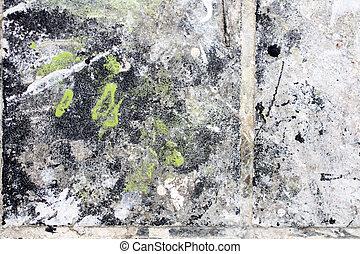 grunge, pintado, fundo