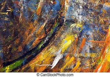 grunge, pinturas