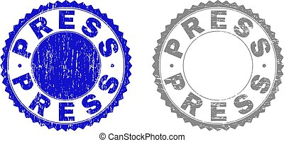Grunge PRESS Textured Stamp Seals