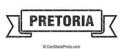 grunge, pretoria, ribbon., band, svart, underteckna