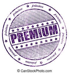 Grunge primium rubber stamp