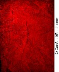 grunge, röd, struktur