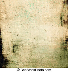grunge, raum, text, bild, hintergrund., weinlese, oder
