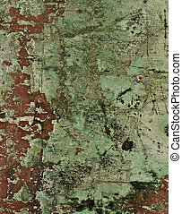 Grunge red aged wall background