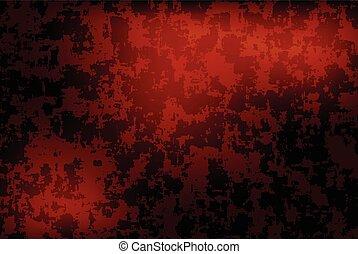 grunge red dark