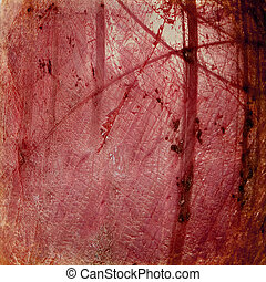 Grunge red luminous cracked background