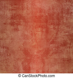Grunge red steel background with stains
