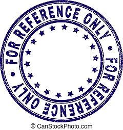 grunge, referentie, postzegel, zeehondje, alleen, textured, ronde