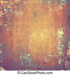 Grunge retro vintage texture, old background. With different color patterns: yellow (beige); brown; purple (violet); red (orange)