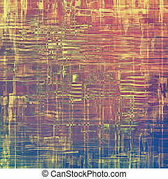 Grunge retro vintage texture, old background. With different color patterns: yellow (beige); purple (violet); blue; pink