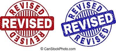 Grunge REVISED Scratched Round Watermarks - Grunge REVISED ...