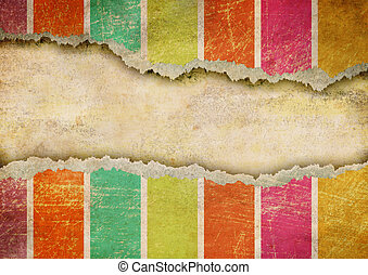 Grunge ripped paper background