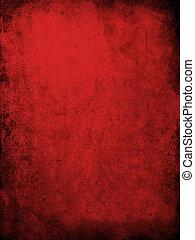 grunge, rotes , beschaffenheit