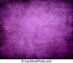 grunge, roxo, abstratos, textura, papel, fundo, ou