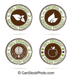 grunge rubber stamp organic color illustration