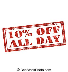 10% Off All Day