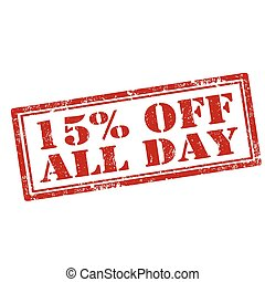 15% Off All Day