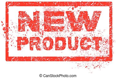 Grunge rubber stamp with text New Product, vector illustration