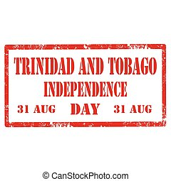 Trinidad And Tobago - Grunge rubber stamp with text Trinidad...