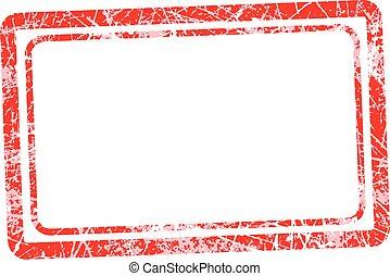 Grunge Rubber Texture Stamp