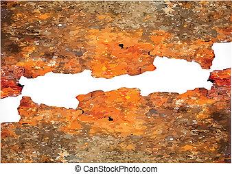 Grunge rusty background. illustration