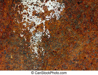 Grunge rusty iron background