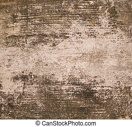 Grunge scratched wall with copy space - Grunge scratched...