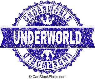grunge, selo, textured, selo, underworld, fita